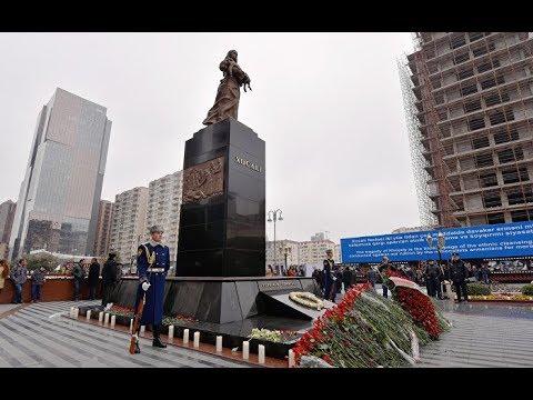 Азербайжан. Памяти жертв