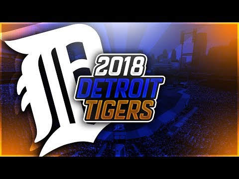 2018 DETROIT TIGERS (PROJECTED OPENING DAY ROSTER) - MLB THE SHOW 17 DIAMOND DYNASTY!