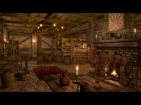 Fireplace Sounds - Medieval Tavern - Inn Ambience | 1 hour