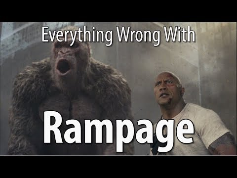 Everything Wrong With Rampage In 16 Minutes Or Less
