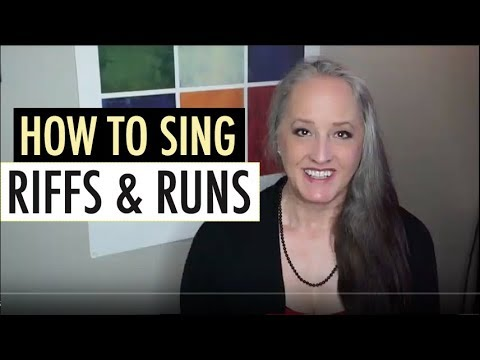 How to Sing Riffs & Runs - aka Fast Moving Passages, Coloratura