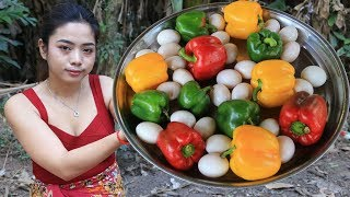 Yummy cooking egg with Pepper recipe - Cooking skill