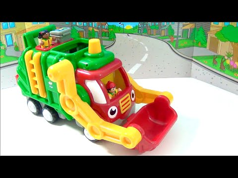 unboxing-flip'-n'-tip-fred!-wow-toys-motorised-recycling-truck-called-fred