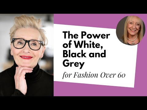 Fashion Over 60: Exploring the Power of Simple Black, White and Grey | Mel Kobayashi