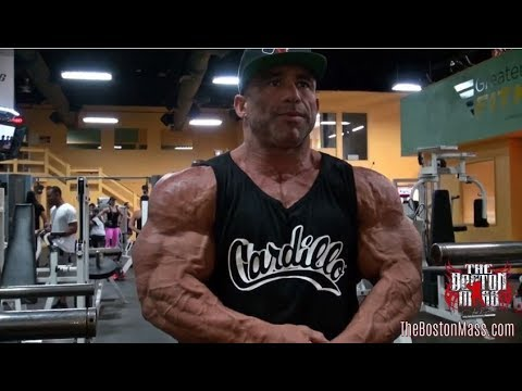the BOSTON MASS | KUWAIT PRO SERIES - Ep. 2 Shoulder Pump at Greater Boston Fitness