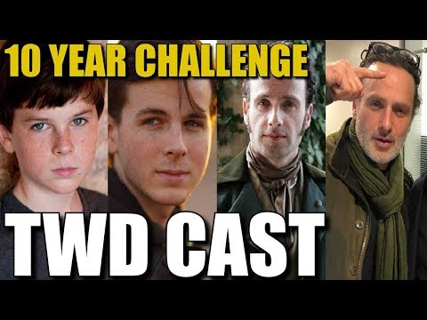 The Walking Dead Cast 10 Year Challenge Pictures - See How TWD Cast Has Changed