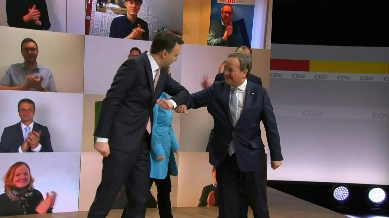 German Chancellor Merkel's party picks Armin Laschet as new leader