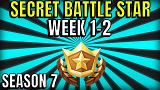 Secret banner week 2 - Fortnite Season 7