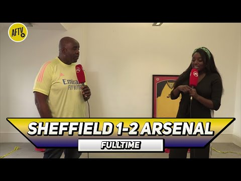 Sheffield Utd 1-2 Arsenal | Wembley Is Our Home Ground! (Pippa)