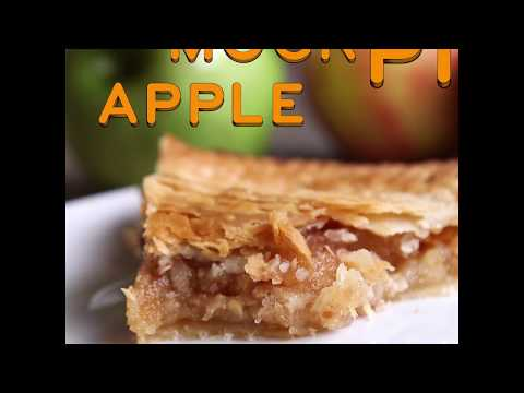 Mock Apple Pie   Dessert