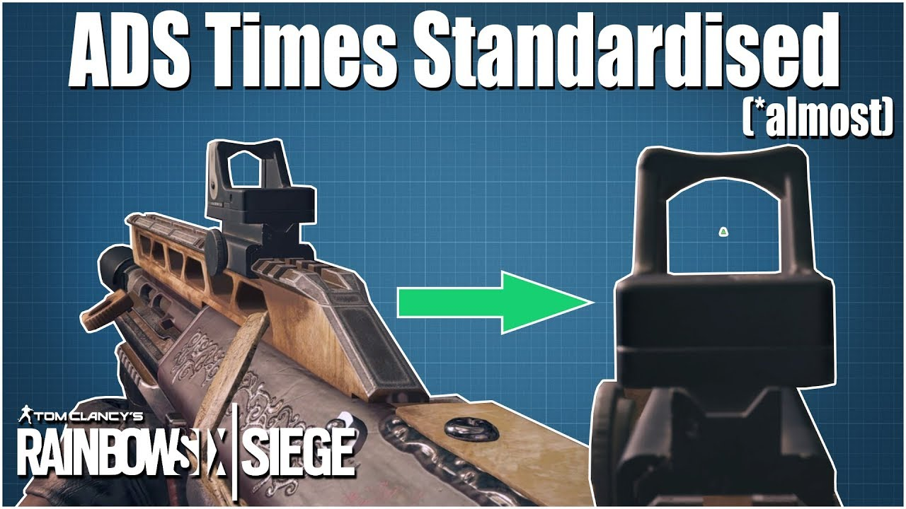 Changes to ADS times - Rainbow Six Siege - R6 Academy