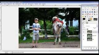 Обработка фотографий Уроки gimp Как можно улучшить свои фотографии в Гимп Лайфхак Смотреть онлайн HD