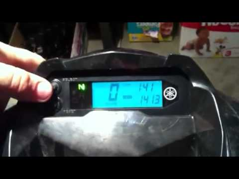how to change from kph to mph raptor 700 youtube. Black Bedroom Furniture Sets. Home Design Ideas