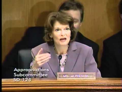 Murkowski Asks BLM Dir. Abbey about DOI Statistics of Oil Production on Federal Lands - Clip 3/14/12