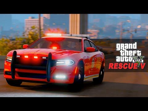 GTA V Rescue Mod V - Fire Chief