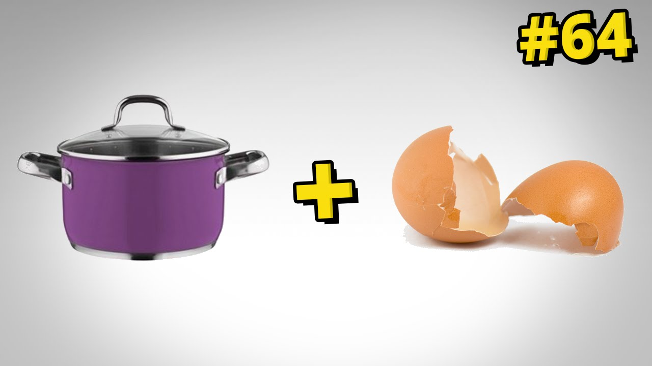 Jak wyczyścić przypalony garnek za pomocą skorupek po jajkach