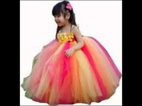 Online Baby Girl Party Dresses - YouTube