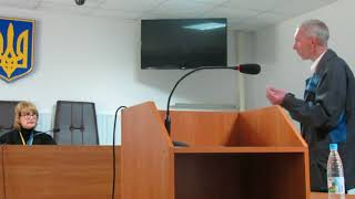Базулько напомнили о необходимости соблюдения порядка в зале суда