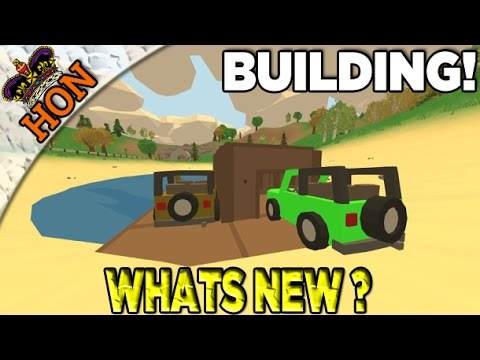 Whats New Unturned 3 0 Basic Building Barricading