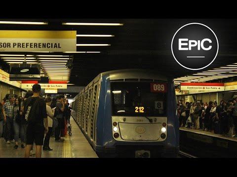 Metro & Buses de Santiago de Chile (HD)