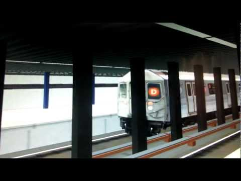 Openbve-R68A (D) Train Terminating At World Trade Center