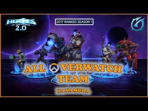 Grubby | Heroes of the Storm 2.0 - All Overwatch Team! (Zary