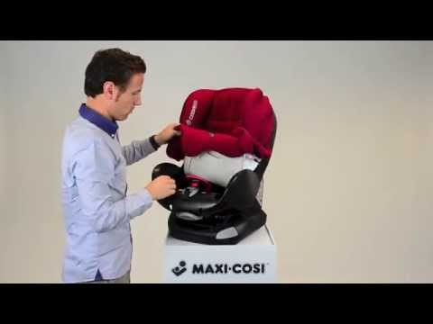Maxi-Cosi Priori XP Car Seat- How To Put On The Cover
