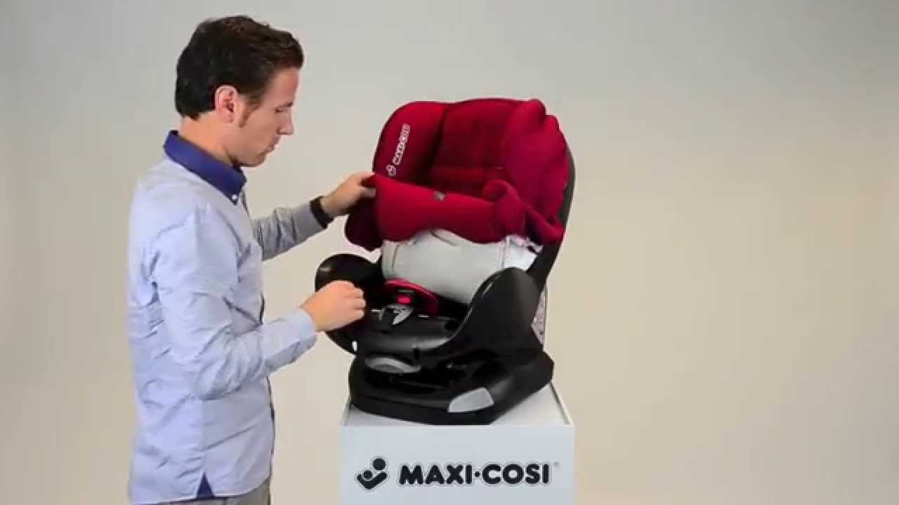 Maxi Sessel Maxi Cosi Priori Xp Car Seat How To Put On The Cover