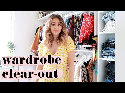 WARDROBE CLEAR-OUT AND SPRING /SUMMER CHANGE OVER! sophie milner