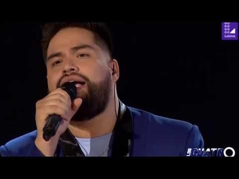 Randy Feijoo canta CUANDO NADIE ME VE - Los Cuatro Finalistas La Batalla Final 15/12/18
