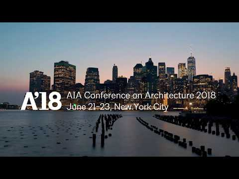 Coming this June to NYC | AIA Conference on Architecture