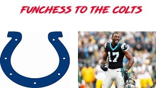 Devin Funchess signs with the Indianapolis Colts can make up to 13 million dollars!