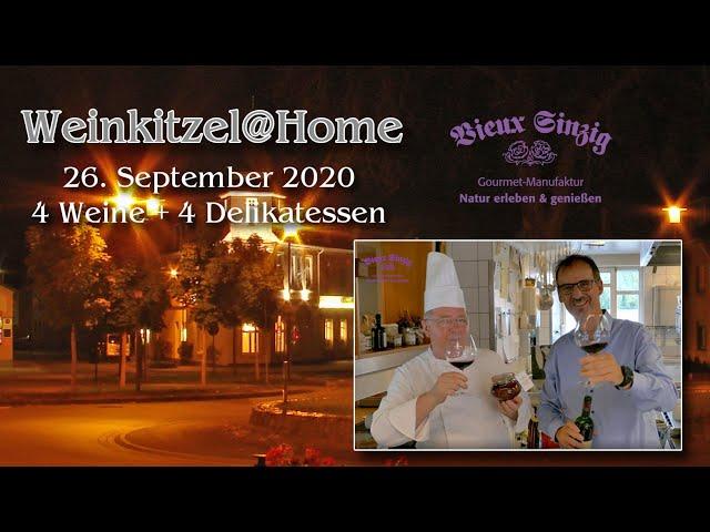 Weinkitzel@Home - Online Weinprobe bei Vieux Sinzig