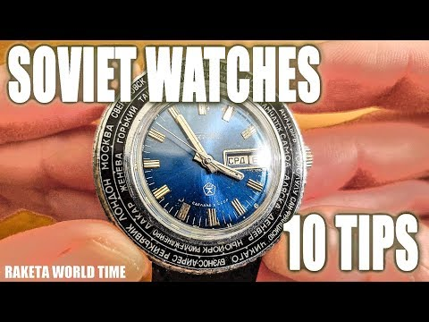 Soviet/Russian Vintage Watches? 10 Tips Before You Buy!