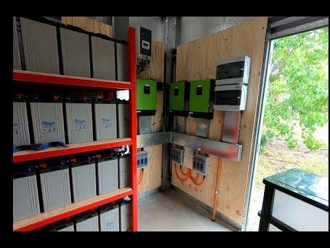 New 14,800 Watt Off Grid System install
