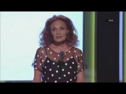 Beyonce's emotional CFDA speech