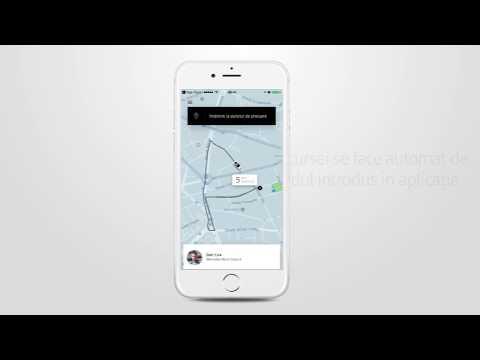 Cum comanzi o mașină cu aplicația Uber