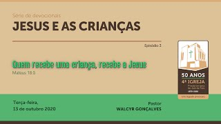 JESUS E AS CRIANÇAS | Série de devocionais