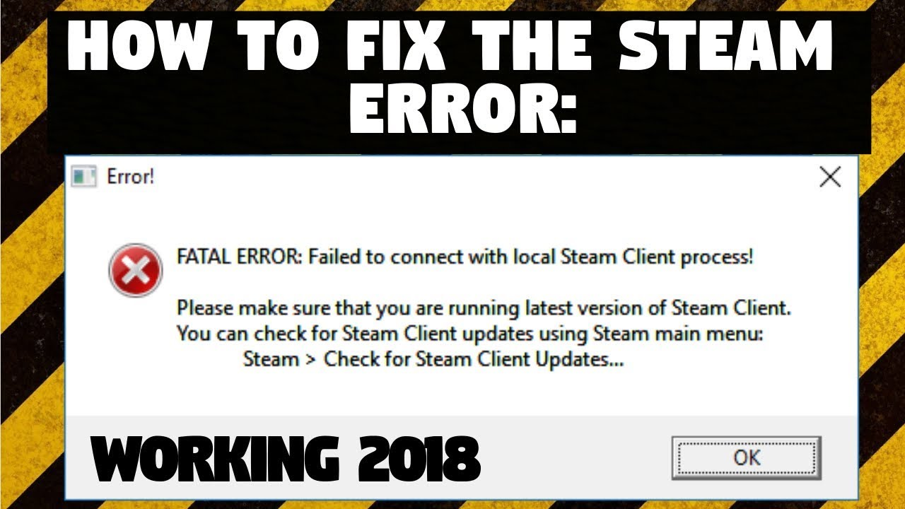How To Fix Fatal Error Failed To Connect With Local Steam. Emotional Intelligence Signs Of Stroke. Cafe French Signs. Hurricane Signs. C Peptide Signs. Conversational Signs Of Stroke. Bohemian Signs Of Stroke. Orientation Signs Of Stroke. Sm Emg Signs