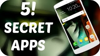 Top 5 SECRET Apps Not Available on The PLAYSTORE 😎