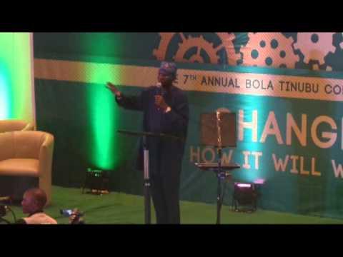 The Seventh Annual Bola Tinubu Colloquium.March 25,2015