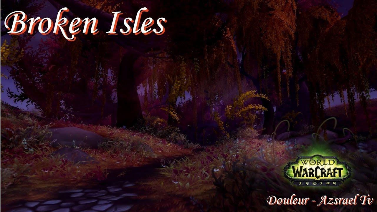 how to start defending broken isles