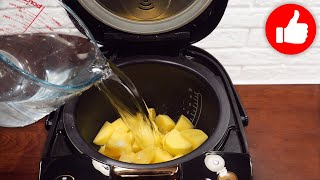 Такой РЕЦЕПТ каждый день можно готовить Два блюда в мультиварке КУРИЦА на пару с КАРТОШКОЙ