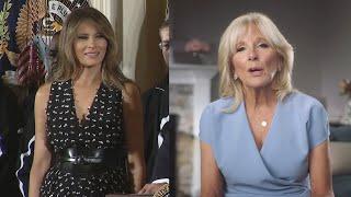 Melania dice adiós a la Casa Blanca y deja paso a Jill Biden