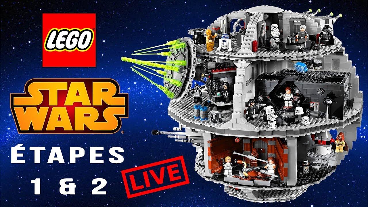Lego Star Wars On Monte L étoile De La Mort étape 1 Et 2