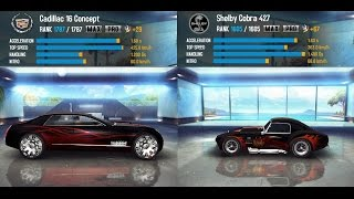 Asphalt 8: Airborne - Shelby Cobra 427 vs Cadillac 16 Concept (GAMEPLAY PC)