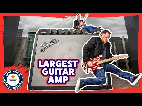 World's Largest Guitar Amp - Meet The Record Breakers
