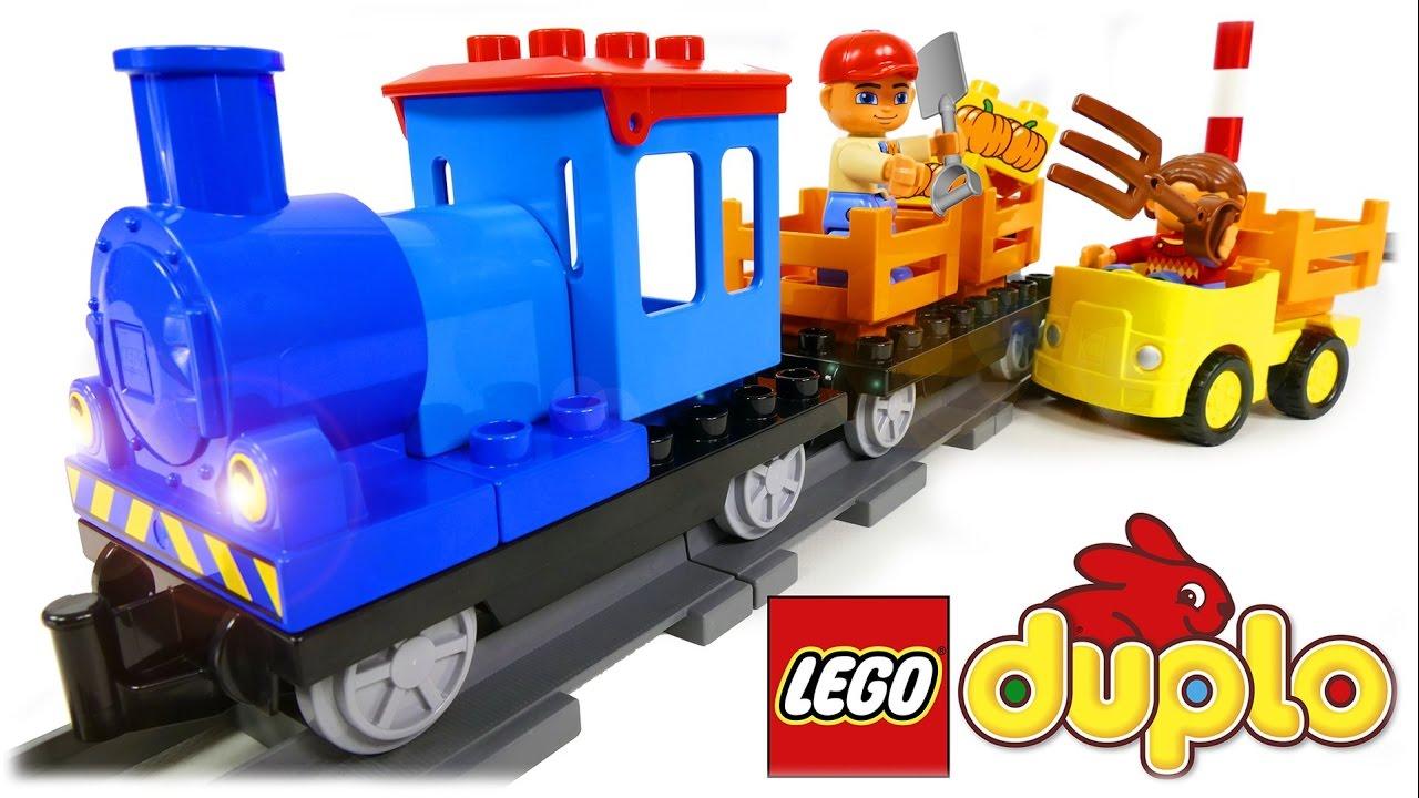 Lego Duplo Push Train 10810 Youtube