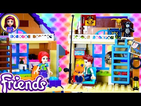 lego-friends-mia's-house-renovations---daniel's-bedroom-&-kitchen-extension-custom-craft-diy