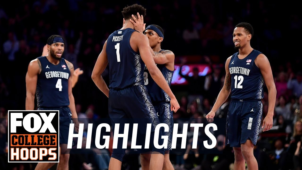 Georgetown rallies past No. 22 Texas behind giant second half  HIGHLIGHTS